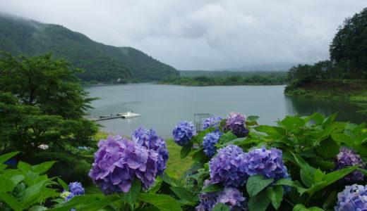 雨の富士五湖ドライブ